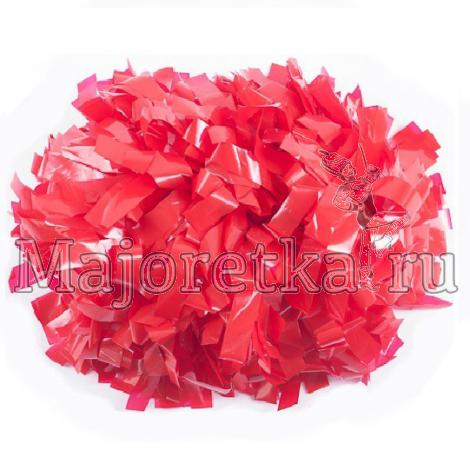 Помпон пластиковый гантелеобразный (одноцветный)